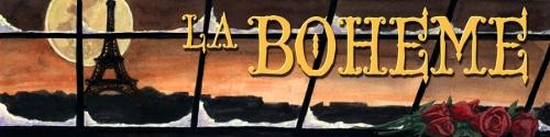 La Boheme Banner